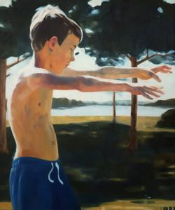 magician, oil on canvas, 120x100x2cm 202