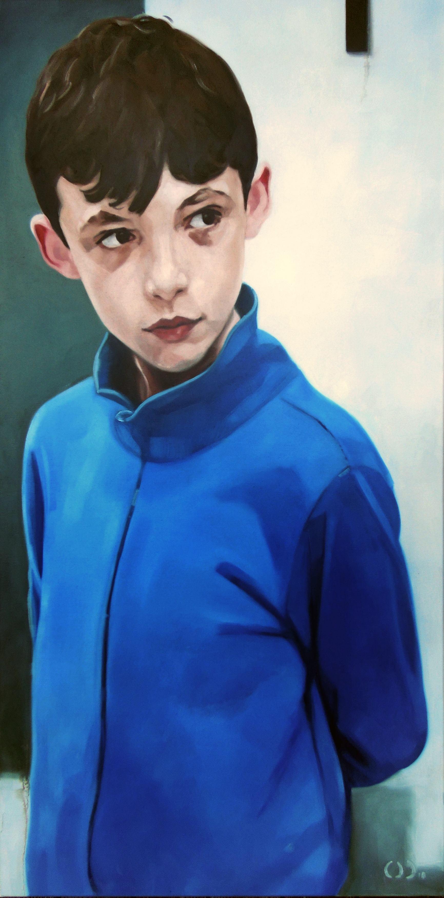 Junior oil on canvas 70x140cm 2018