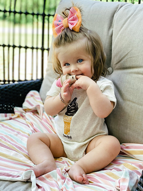 Baby I SCREAM Onesie & Teethers