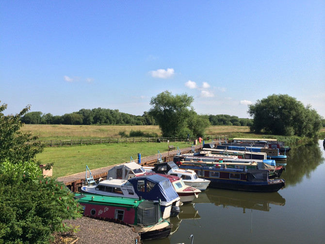 Leicester Marina - a hidden oasis adjacent to Watermead Country Park