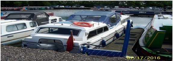 32ft Boat for sale at Leicester Marina now reduced for quick sale