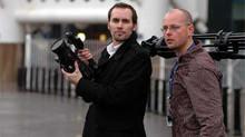 Filmmakers Teilo Trimble & James Robson