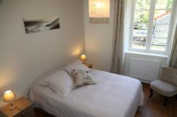 Chambre 4 - 1 lit de 140 cm
