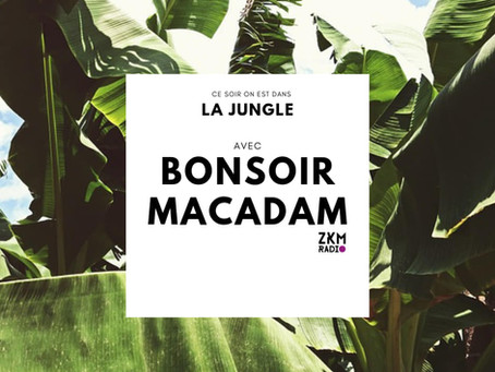 REPLAY > La Jungle x Bonsoir Macadam