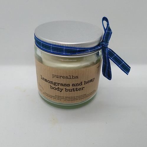 Lemongrass & Hemp body butter
