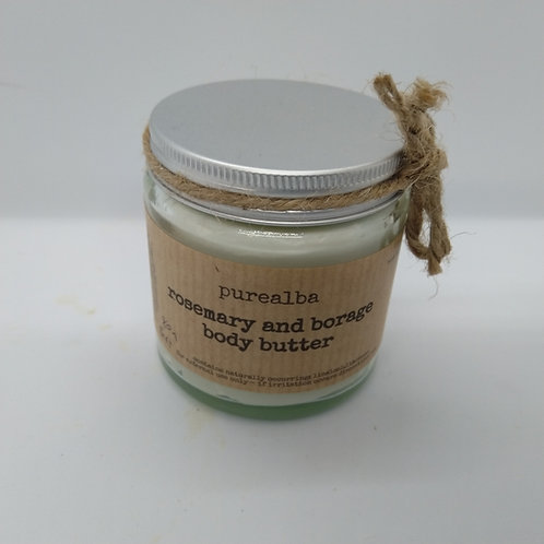 Rosemary & Borage body butter