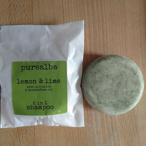 Lemon & Lime shampoo bar