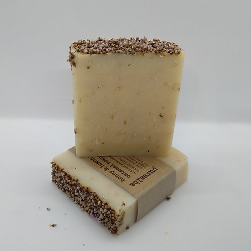 Honey & Lemon with Oatmeal soap