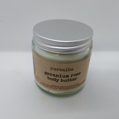 Geranium Rose & Jojoba body butter