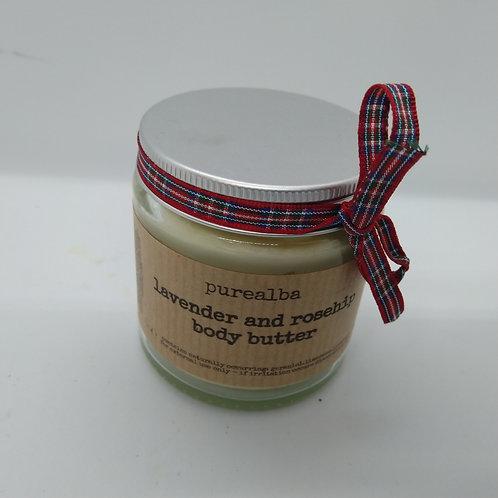 Lavender & Rosehip body butter