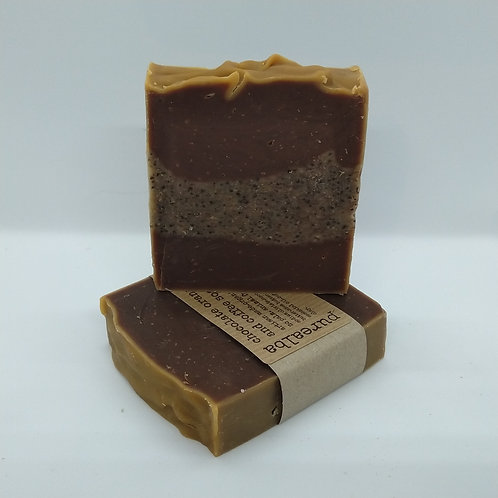 Chocolate Orange & Coffee soap