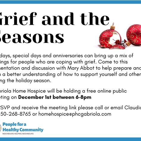 Grief and the Seasons