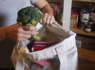 Packing a Food Bag.JPG