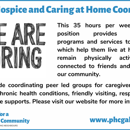 Home Hospice and Care at Home Coordinator