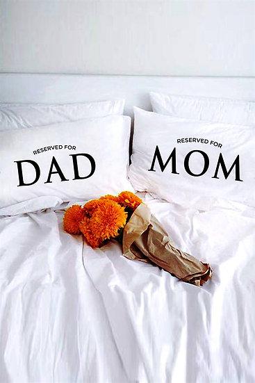 Anne Baba Kişiye Özel 2li Yastık Kılıfı
