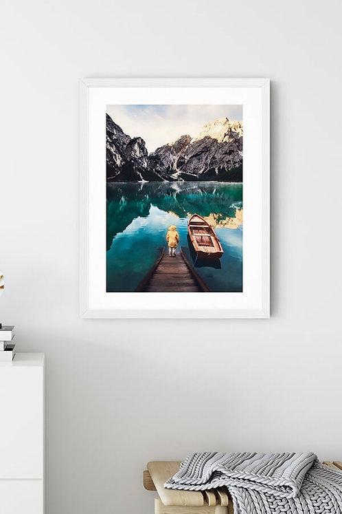 Lake Göl 2 Tablo Poster