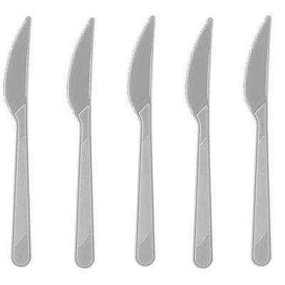 Gri Plastik Bıçak
