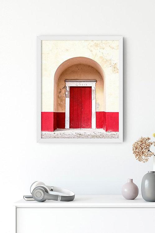 Kırmızı Kapı 2 Tablo Poster