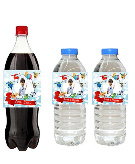 Harika Kanatlar Su ve Meşrubat Etiketi