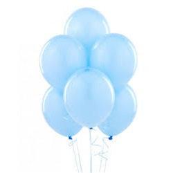 Düz Mavi Balon
