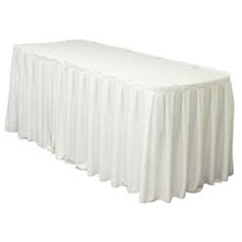 Beyaz Masa Eteği Plastik