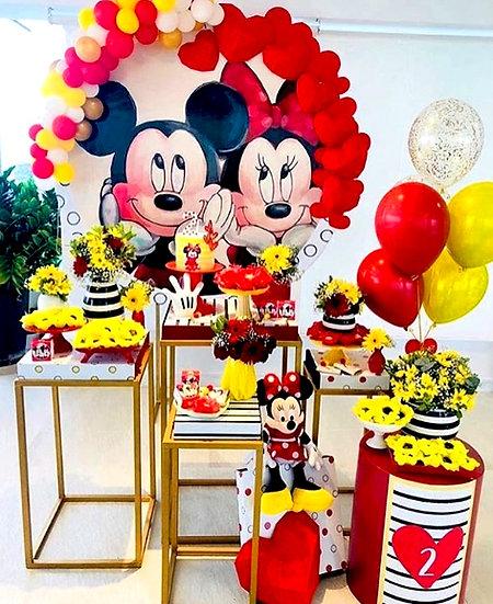 Mickey Minnie Temalı Doğum Günü Organizasyonu