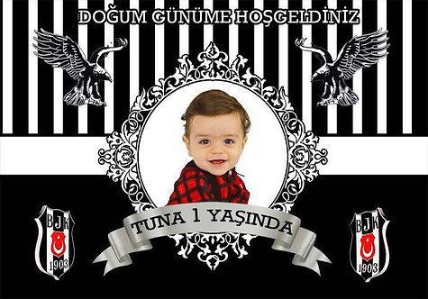 Beşiktaş Bjk Temalı Afiş 2