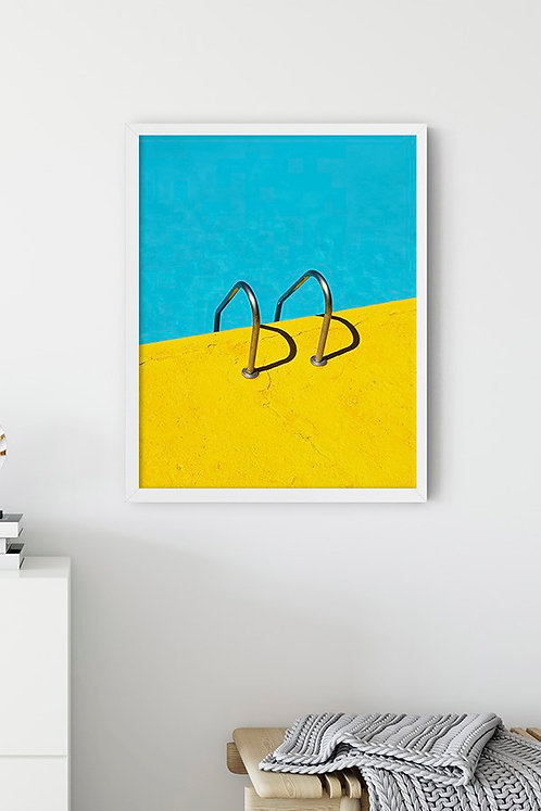 Havuz Tablo Poster