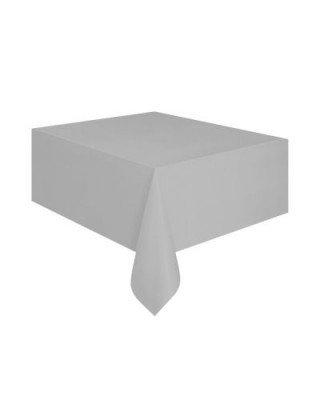 Gümüş Masa Örtüsü Plastik