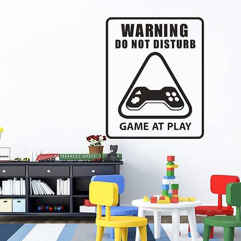 Gamer Duvar Sticker Çıkartma 4