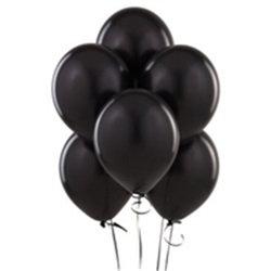 Düz Siyah Balon