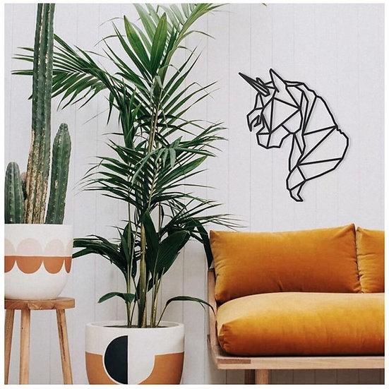 Unicorn Kişiye Özel Duvar Ahşap Dekor
