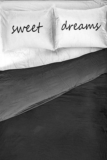 Tatlı Rüyalar Kişiye Özel 2li Yastık Kılıfı
