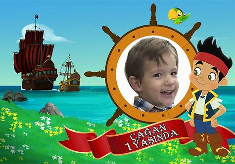 Jake ve Korsanlar Temalı Afiş