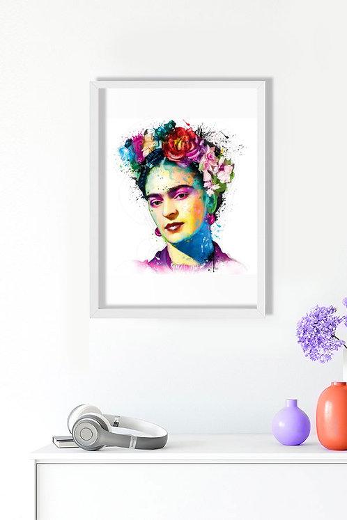 Frida Tablo Poster