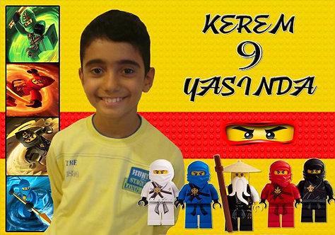 Lego Ninjago Temalı Afiş