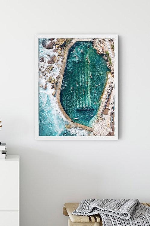 Deniz Suyu Havuzu 3 Tablo Poster