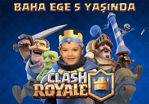 Clash Royal Temalı Afiş