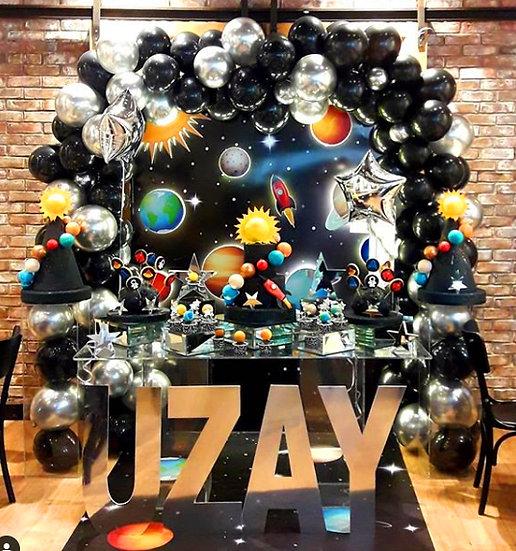 Uzay Temalı Doğum Günü Organizasyonu