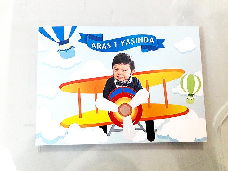 Pilot Uçak Hediyelik Magnet