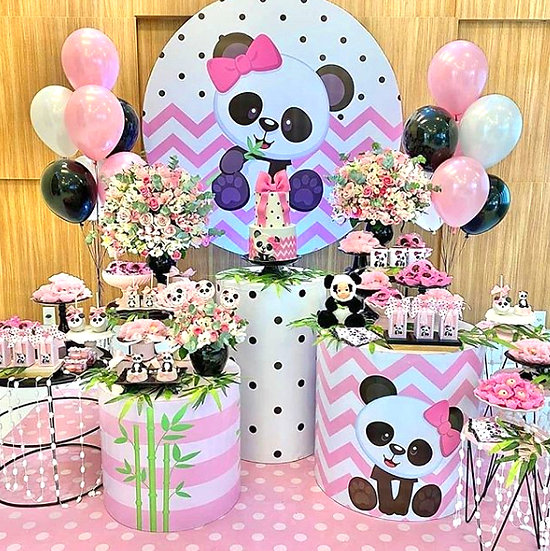 Panda Temalı Doğum Günü Organizasyonu
