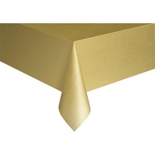 Gold Masa Örtüsü Plastik