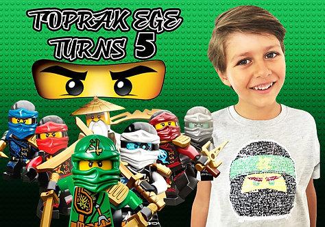Lego Ninjago Temalı Afiş 3
