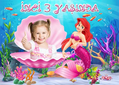 Ariel Deniz Kızı Doğum Günü