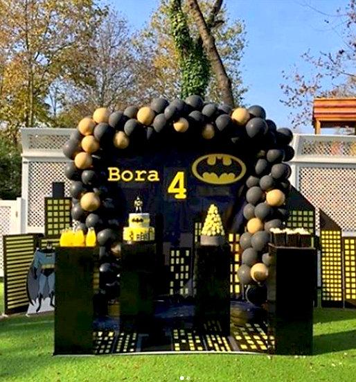 Batman Temalı Doğum Günü Organizasyonu 2