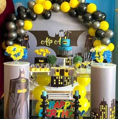 Batman Temalı Doğum Günü Organizasyonu