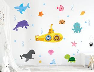 deniz-alti-okyanus-hayati-duvar-sticker-