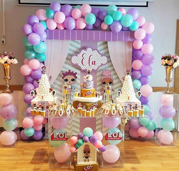 Lol Bebek Temalı Doğum Günü Organizasyonu