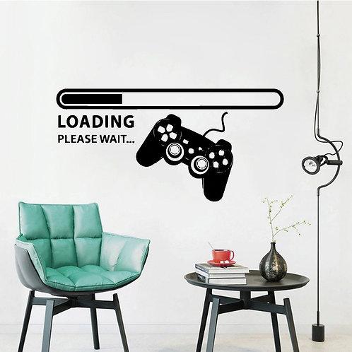 Gamer Duvar Sticker Çıkartma 9