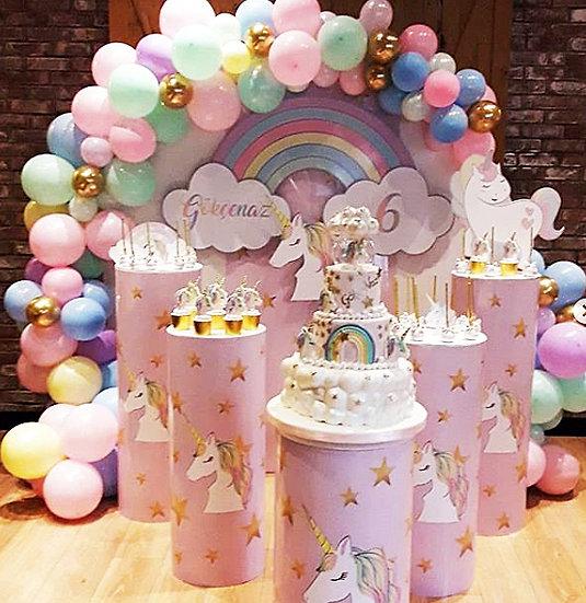 Unicorn Temalı Doğum Günü Organizasyonu 2